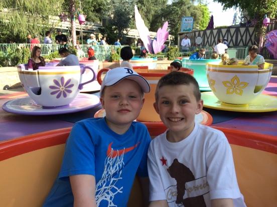 Davis and Cole Disneyland, 2014