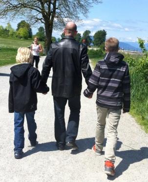 Robert, Hansen and Dawson Mother's Day 2014