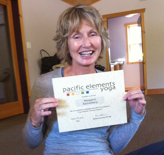 Yoga Teacher Training Graduation March 2012