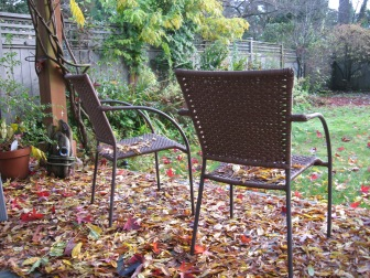 Our sacred garden – October 2008